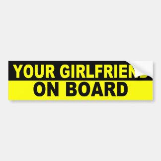 Hilarious bumper sticker by AardvarkApparel