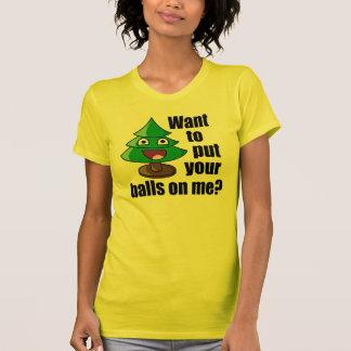 Hilarious Christmas Tree T-Shirt