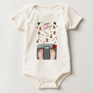 Hilarious holidays baby bodysuit