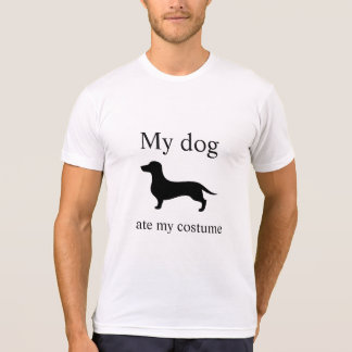 Hilarious My dog ate my costume Halloween T-Shirt