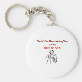 Hilarious Nurse Gifts Keychain