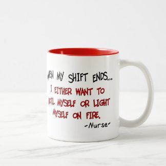Hilarious Nurse Sayings Mug