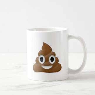 Hilarious poop-emoji - Poo cartoon design Coffee Mug