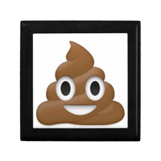 Hilarious poop-emoji - Poo cartoon design Gift Box