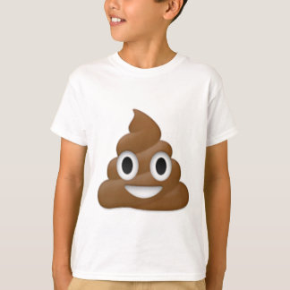 Hilarious poop-emoji - Poo cartoon design T-Shirt
