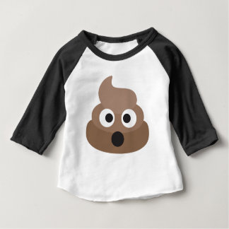 Hilarious shocked Emoji Poop Baby T-Shirt