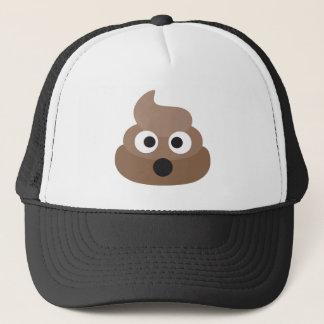 Hilarious shocked Emoji Poop Trucker Hat