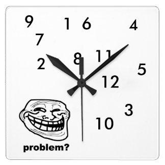 Hilarious Troll Clock