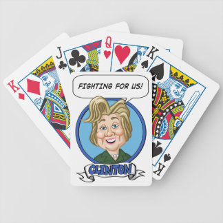 Hilary Clinton Election 2016 Bicycle Playing Cards