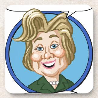 Hilary Clinton Election 2016 Drink Coaster