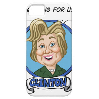 Hilary Clinton Election 2016 iPhone 5 Cases