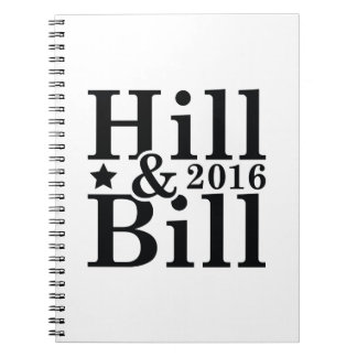 Hill And Bill Notebook