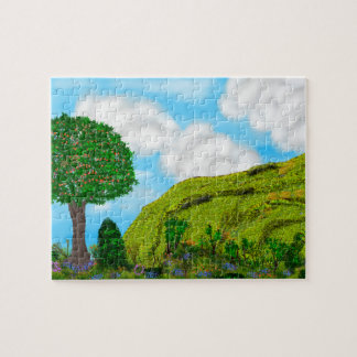 Hill and Tree Jigsaw Puzzle