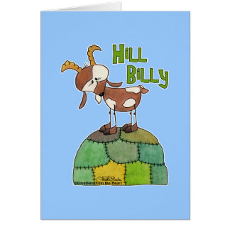 Hill Billy Card