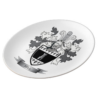 Hill Coat of Arms Plate