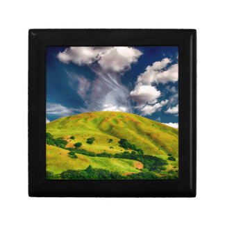Hill countryside landscape nature gift box
