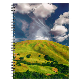 Hill countryside landscape nature notebook