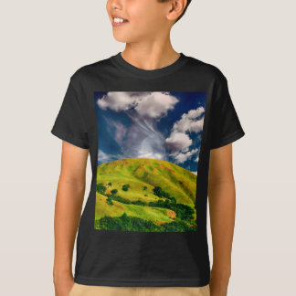 Hill countryside landscape nature T-Shirt