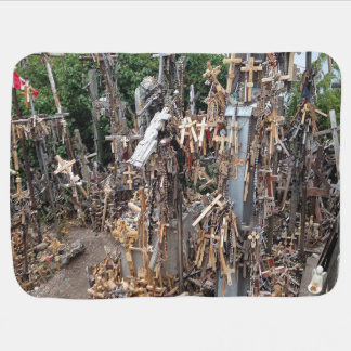 Hill of crosses   receiving blankets