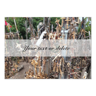Hill of the Crosses, Lithuania | Card