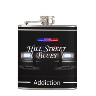 Hill Street Blue Hip Flask