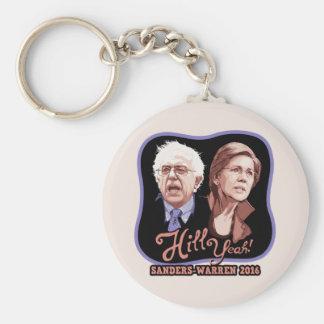 Hill Yeah! Sanders-Warren Basic Round Button Keychain