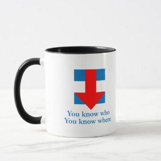 Hillarity 3 mug