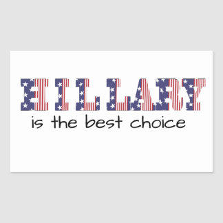 Hillary 16 Is the best choice