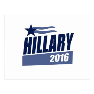 HILLARY 2016 CAMPAIGN BANNER POSTCARDS