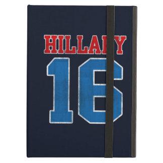 Hillary 2016, Grunge Retro Varsity iPad Air Cases