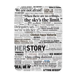Hillary 2016 Historic Headline Magnet