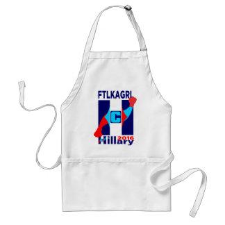 Hillary 2016 Logo FTLKAGRL Standard Apron