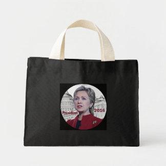 Hillary 2016 mini tote bag
