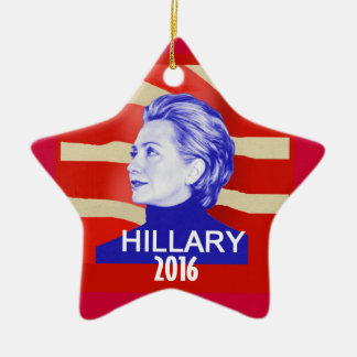 Hillary 2016 Ornament