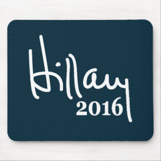 Hillary 2016 Signature Mousepad