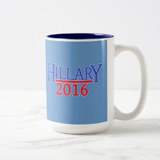HILLARY 2016 Two-Tone COFFEE MUG