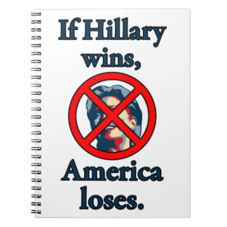 HILLARY AMERICA LOSES NOTEBOOKS