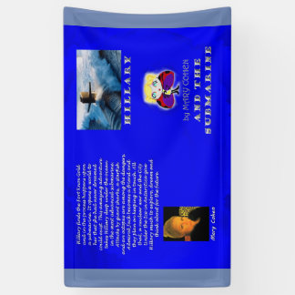 Hillary and the Submarine book cover Banner