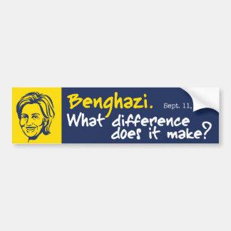 Hillary/Benghazi 1 Bumper Sticker