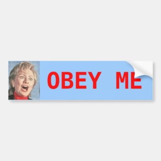 Hillary Bumper Sticker