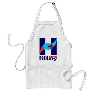 Hillary C Logo 2016 Standard Apron