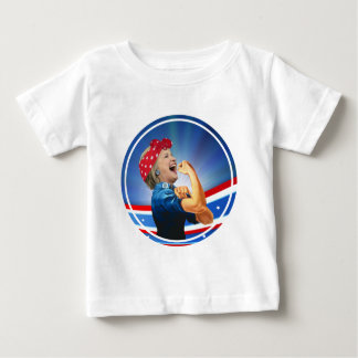 Hillary Clinton 1st Woman Presidential Nominee Baby T-Shirt