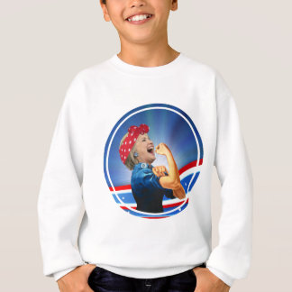 Hillary Clinton 1st Woman Presidential Nominee Sweatshirt