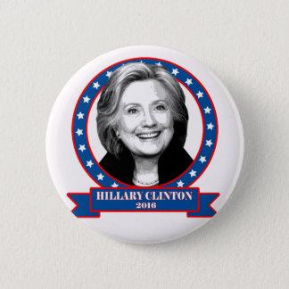 Hillary Clinton 2016 campaign button. 2 Inch Round Button