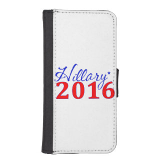 Hillary Clinton 2016 iPhone SE/5/5s Wallet Case