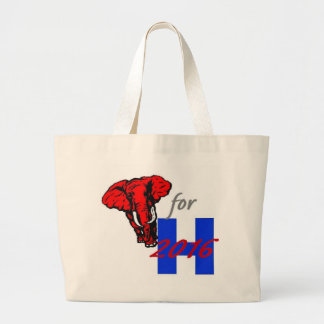 Hillary CLINTON 2016 Large Tote Bag