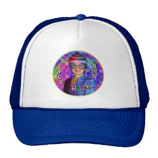 Hillary Clinton 2016 President Hippie Political Trucker Hat