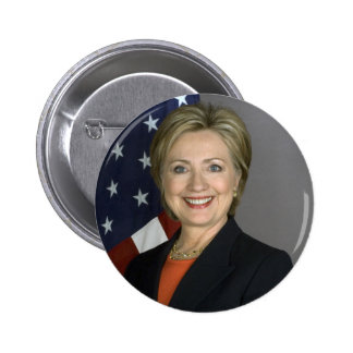 Hillary Clinton 2 Inch Round Button