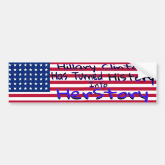 Hillary Clinton Bumper Stickers