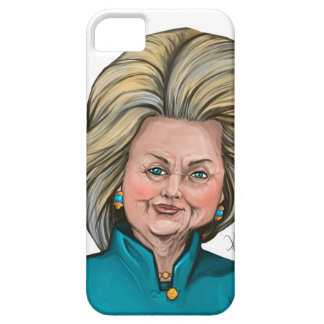 Hillary Clinton Caricature iPhone 5 Cover